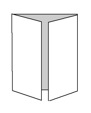 double gate fold