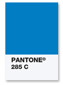 Pantone 285C http://www.paperspecs.com/11215/pantones-chip-in-rebate-program/