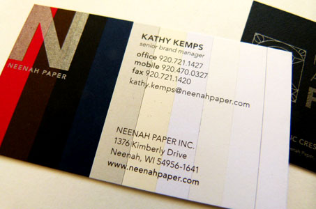 Classic brands business cards paperspecs the then double thick 9 x 12 sheets was offset printed front and back and then trimmed to business card size colourmoves