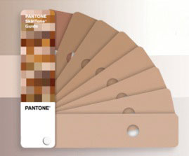 Pantone Nude color swatches