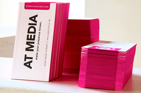 At media business cards paperspecs edge coloring coolgray 7u small text 5050 mix of black opaque white at media finishing and binding blind impression round edge box reheart Image collections