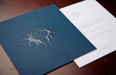 Sappi Folded Inspiration Event PaperSpecs – Luxury Party Invitations