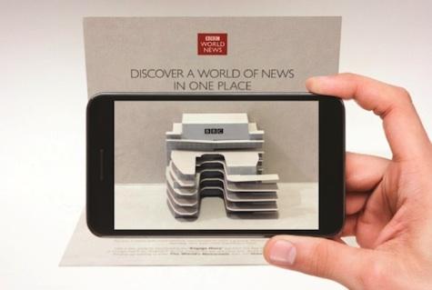 BBC pop-up mailer and app