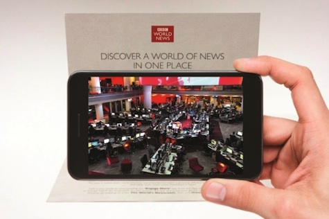 BBC pop-up mailer and app