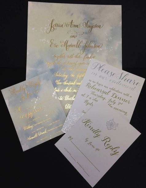 Jessica Simpson Wedding Invitation