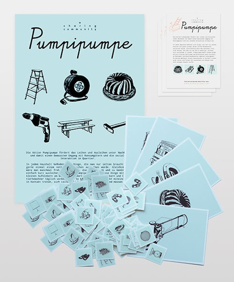 Pumpipumpe stickers
