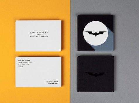 Batman business card