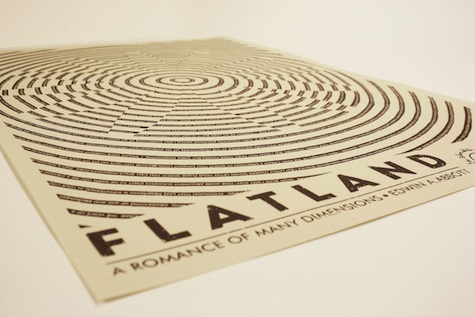 Two 3D Flatland Posters