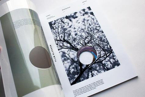 Spirit of Japan die-cut brochure