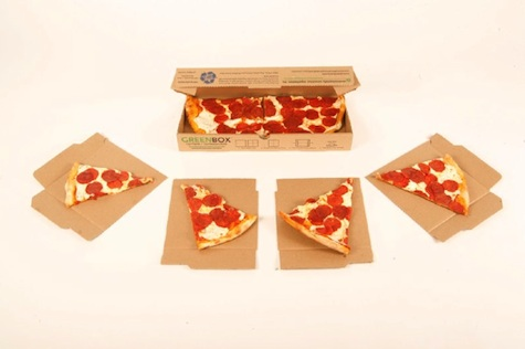 Greenbox: The environmentally friendly pizza box