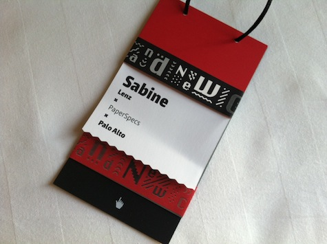 Brand New Conference tag