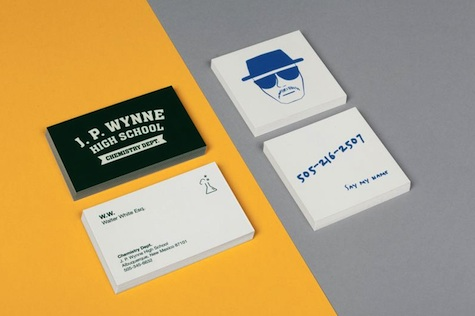 Breaking Bad business card