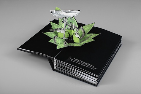 Beaufort Bar pop-up book
