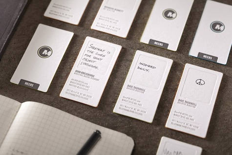 Meers business cards