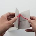 Tie the knot invitation
