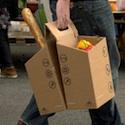 "Cardboard ""pack bag"""
