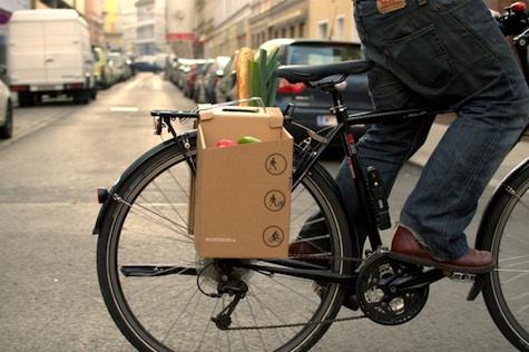 Cardboard pack bag