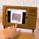 Cardboard Safari TV iPad Cover
