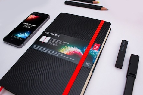 Moleskine Creative Cloud notebook
