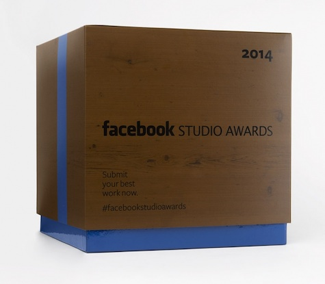 Facebook Studio Awards mailers
