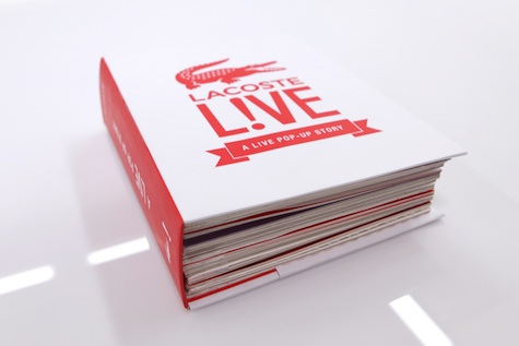 L!VE Pop-up Book