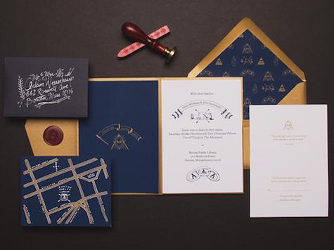 Secret Society Wedding Invitations by Sparkvites