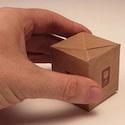 3d folding business card