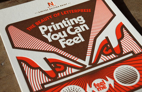 letterpress with the aaron draplin touch. Black Bedroom Furniture Sets. Home Design Ideas