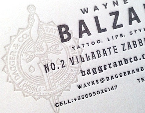Dagger & Co business card