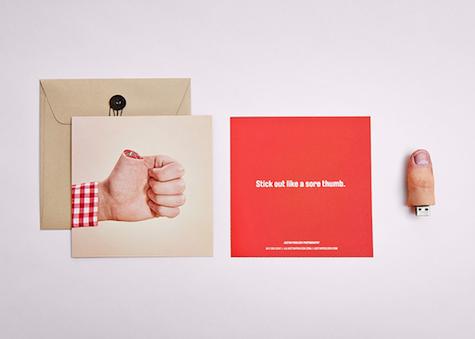 justin poulsen thumb drive design