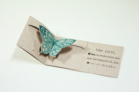 popup business card