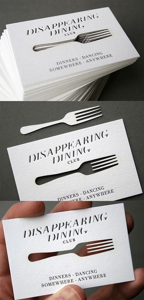 dining club card