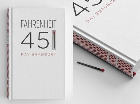 Fahrenheit 451 book design