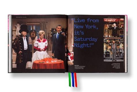 saturday night live book design