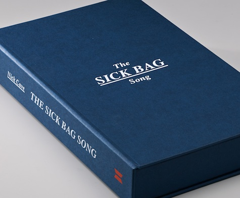 sick bag song book design