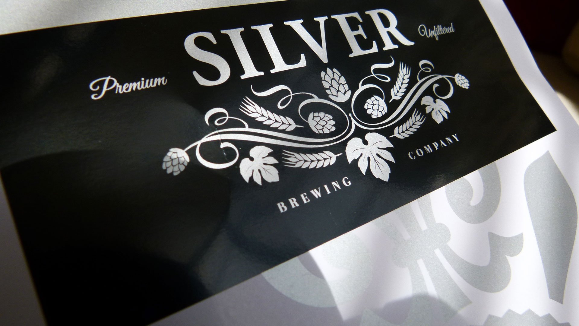 silver-on-black