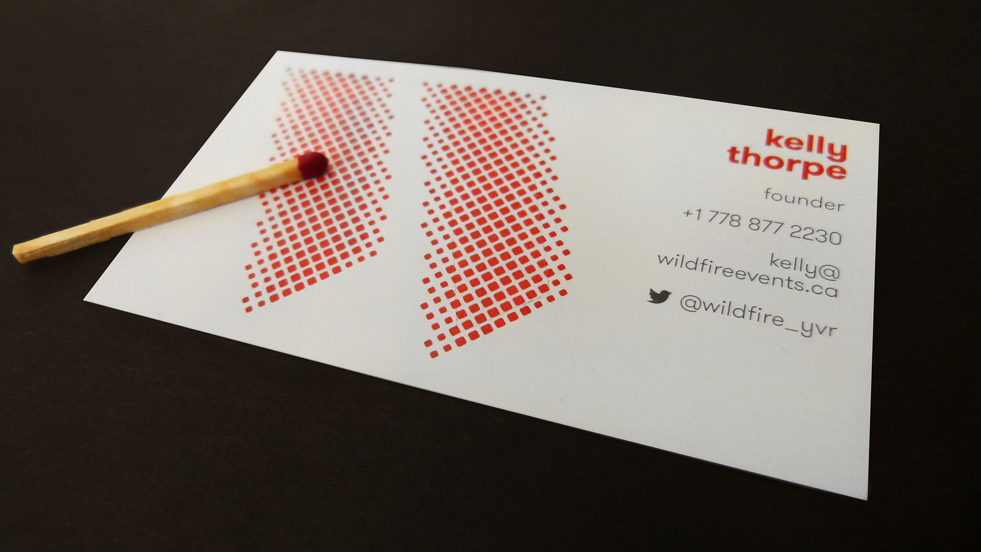 Wildfire Business Cards