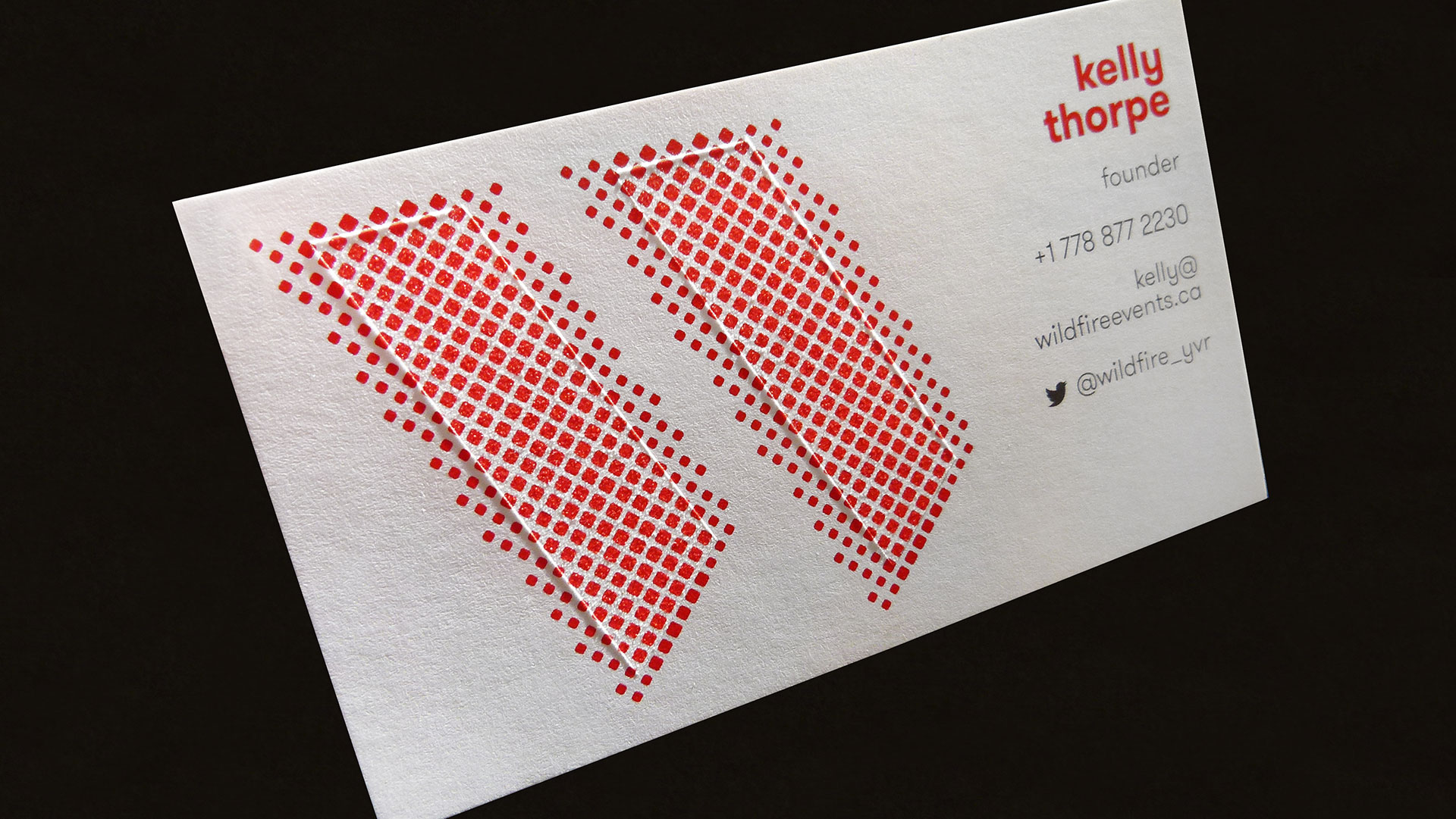 Wildfire business cards share this article reheart Gallery