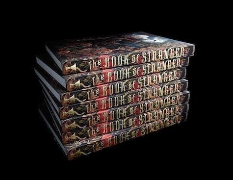 book of stranger design