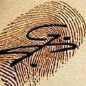 fingerprint business card