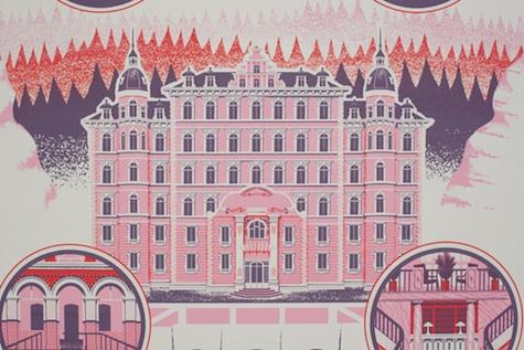 grand budapest hotel print design