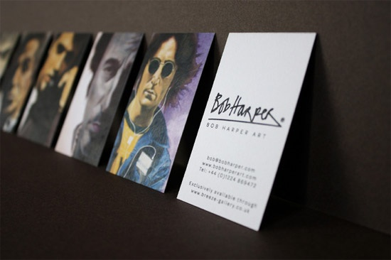 bob harper business card