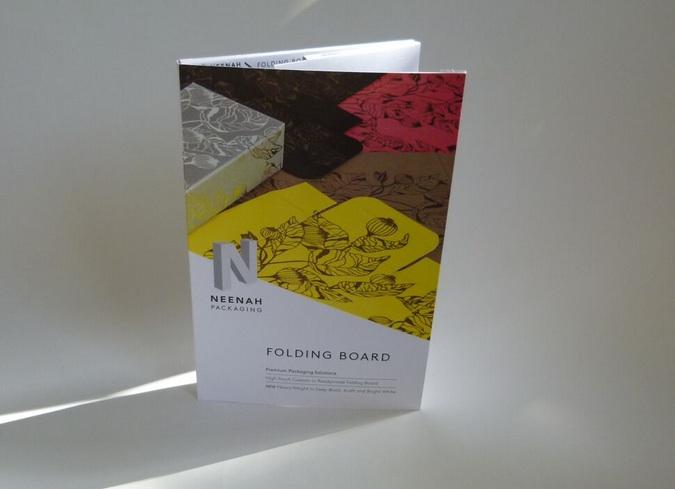 folding board swatchbook