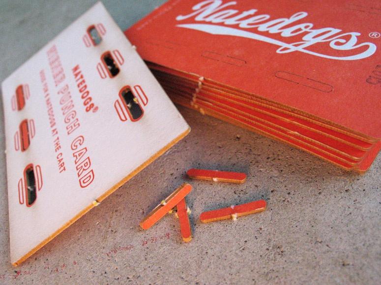 hotdog punch card