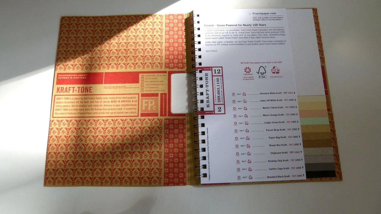 kraft tone swatchbook