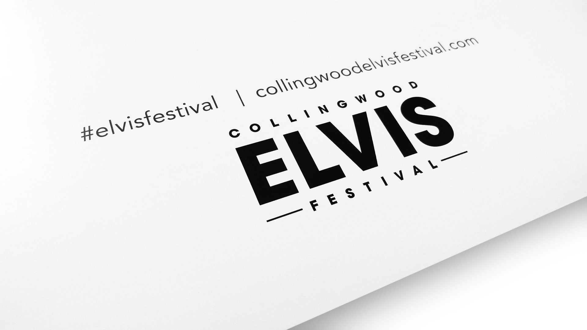 Collingwood Elvis Festival Poster Series - PaperSpecs
