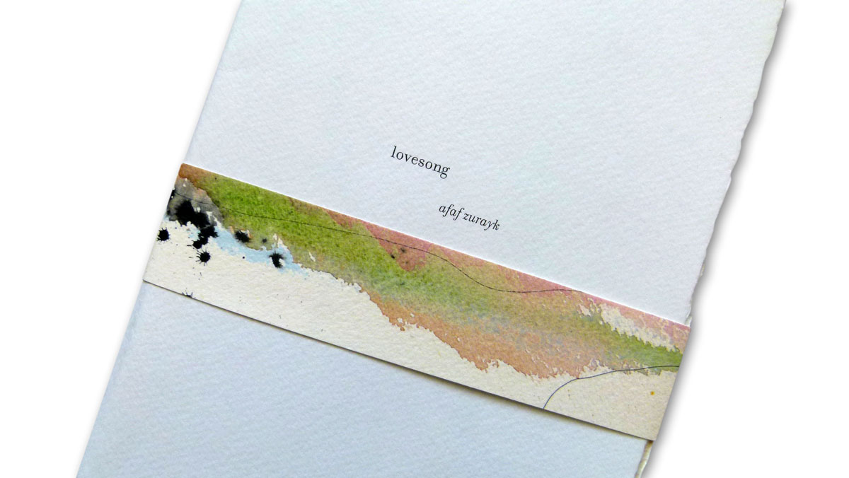 Lovesong Chapbook - PaperSpecs