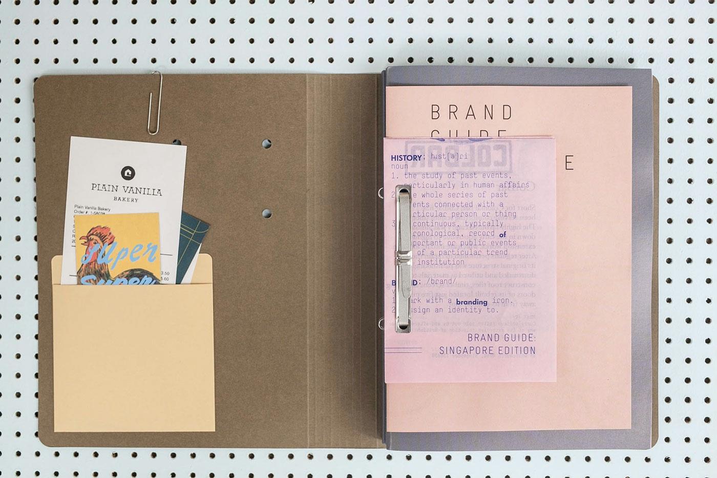 brand guide singapore design