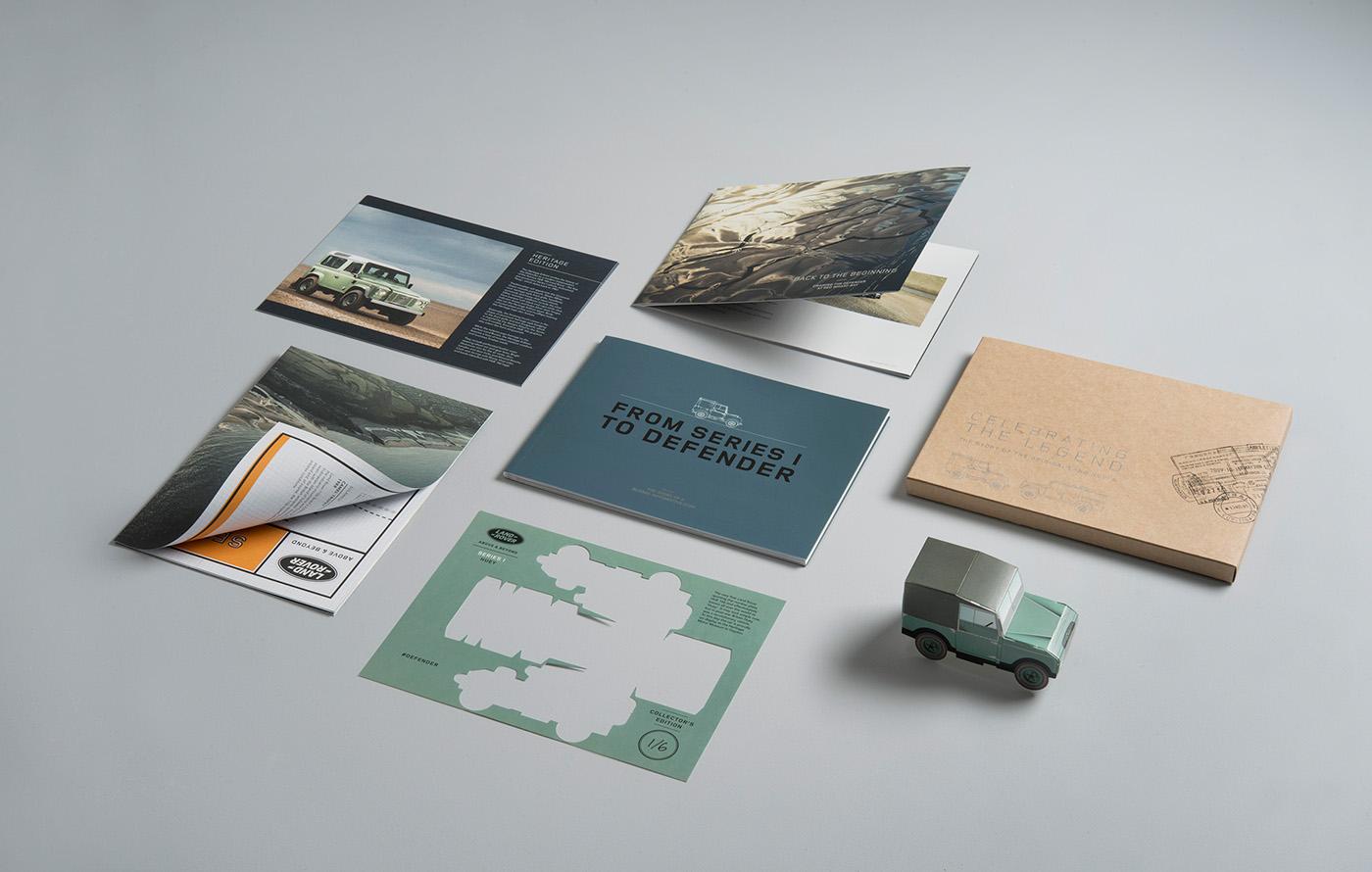 Land Rover Defender Pack Design