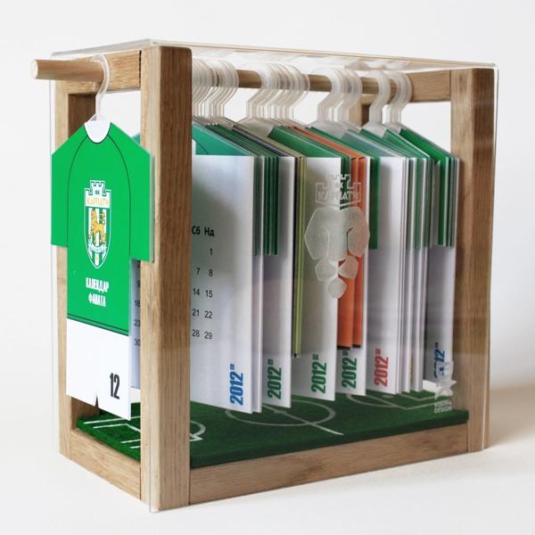 football club calendar design